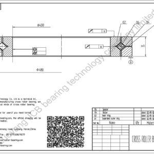 crossed roller bearing NSK NRXT 9020E - CROSSED ROLLER BEARING